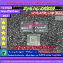Aoweziic 100% جديد الأصلي KLMAG2GEND B031 بغا الذاكرة EMMC 16G ذاكرة KLMAG2GEND B031