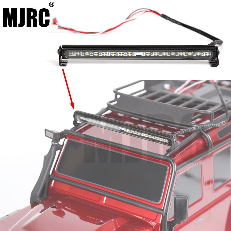 RC Car Parts Trx4 Metal LED Roof Lamp Light Bar For 1/10 RC Crawler Traxxas Trx-4 Trx4 Axial 90046 90047 RC4WD Car Accesories