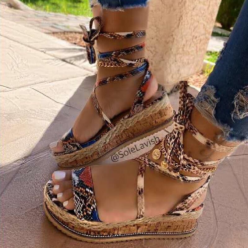 Women Sandals Plus Size 35-43 Running Shoes Woman Sandals Summer Shoes 2020 Summer Flip Flop Chaussures Femme Platform Sandals