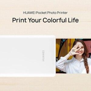 Image 2 - HUAWEI AR Mini imprimante Photo de poche Portable CV80 313*490 DPI sans fil Bluetooth 4.1 imprimante bricolage pour téléphone Mobile Android et iOS