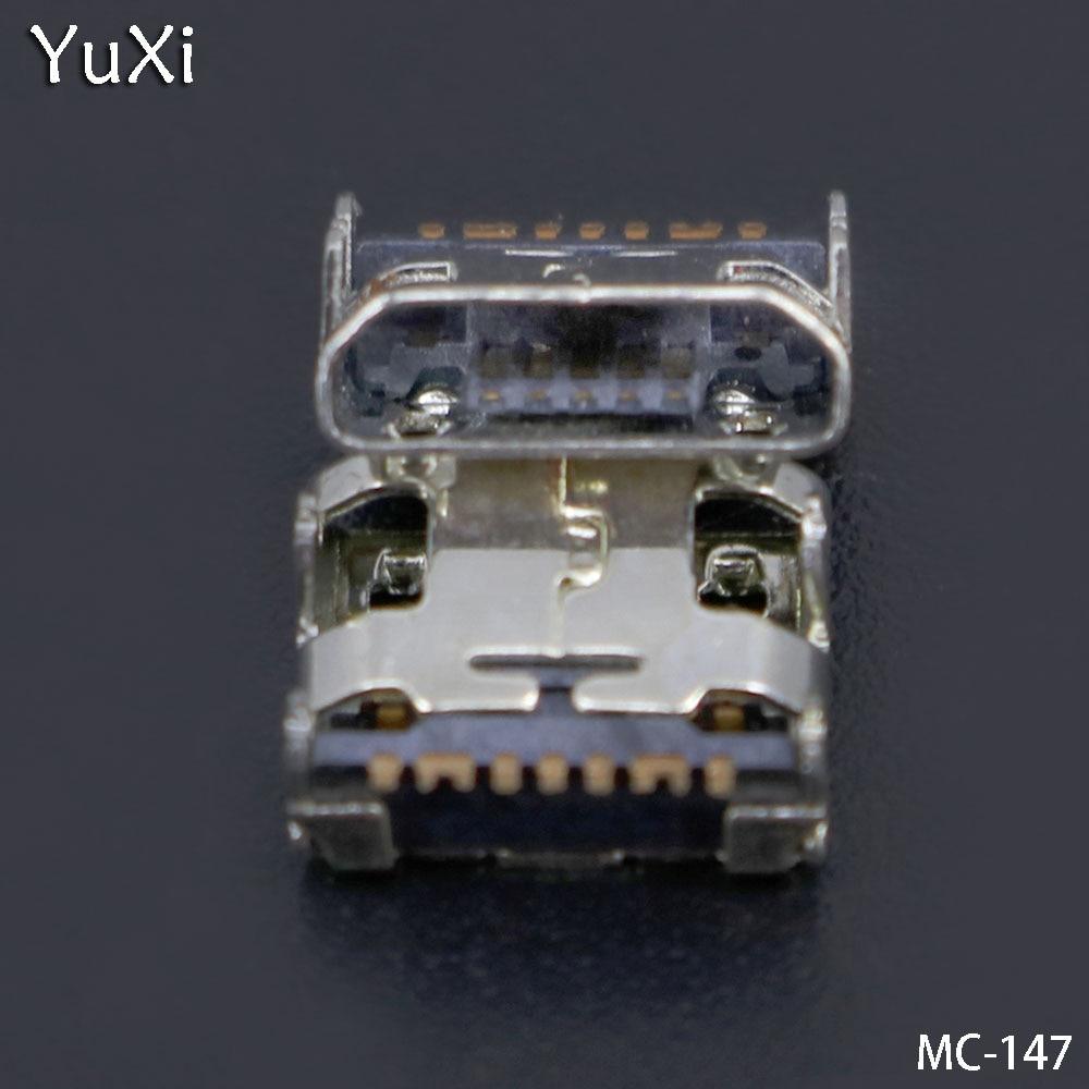 10pcs Micro Mini Usb Charging Port Jack Socket Connector Plug For Samsung Galaxy G355 G313 A8 A8000 A8009 J1 J120 J210F C3590