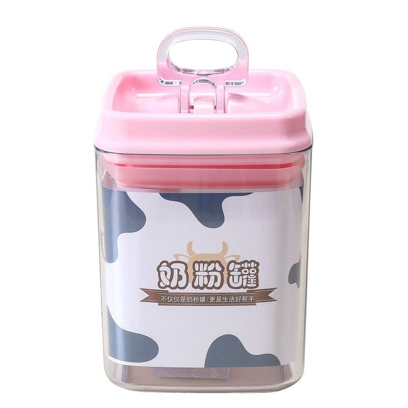Infant Milk Box Nursing Sealed Milk Powder Separately Packed Case Dustproof Multi-functional Storage Box Portable Milk Container