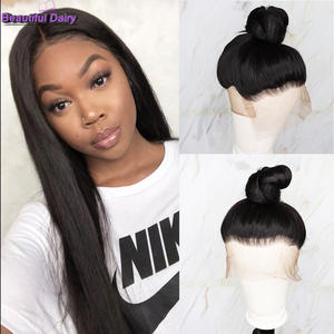 Wig Heat-Resistant Synthetic Full-Lace Futura-Hair Gluesless Beautiful Straight Women