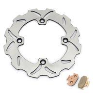BIKINGBOY Rear Brake Disc Disk Rotor Pads For Suzuki DR 650 SE 1996 1997 1998 1999 2000 2001 2002 03 04 05 06 07 08 09 10 11 12