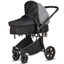 2 in 1 Folding Aluminum Baby Stroller Buggy Newborn Travel P