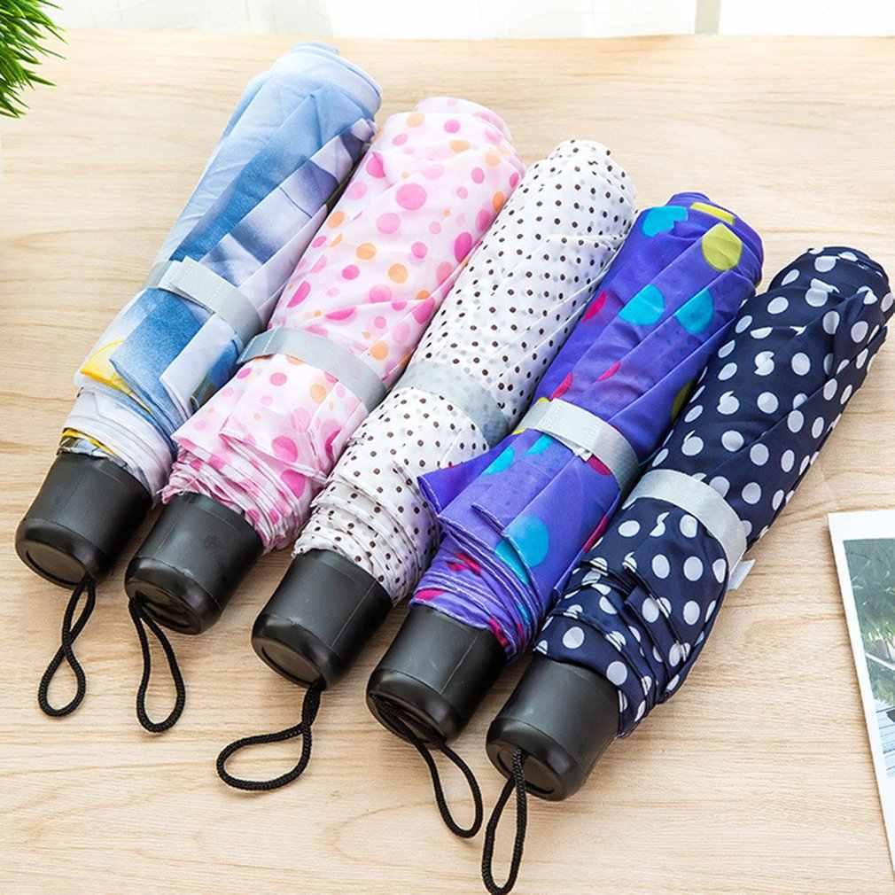 Couple color short handle umbrella 30 fold umbrella portable mini folding umbrella wholesale gift umbrella