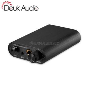 Image 1 - Douk Audio Mini USB HiFi Sound Card DAC TDA1387 Audio Decoding Headphone Amplifier DTS/AC3