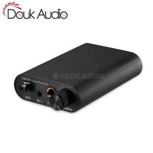 Image 1 - Douk オーディオミニ USB ハイファイサウンドカードの Dac TDA1387 オーディオデコードヘッドホンアンプ DTS/AC3
