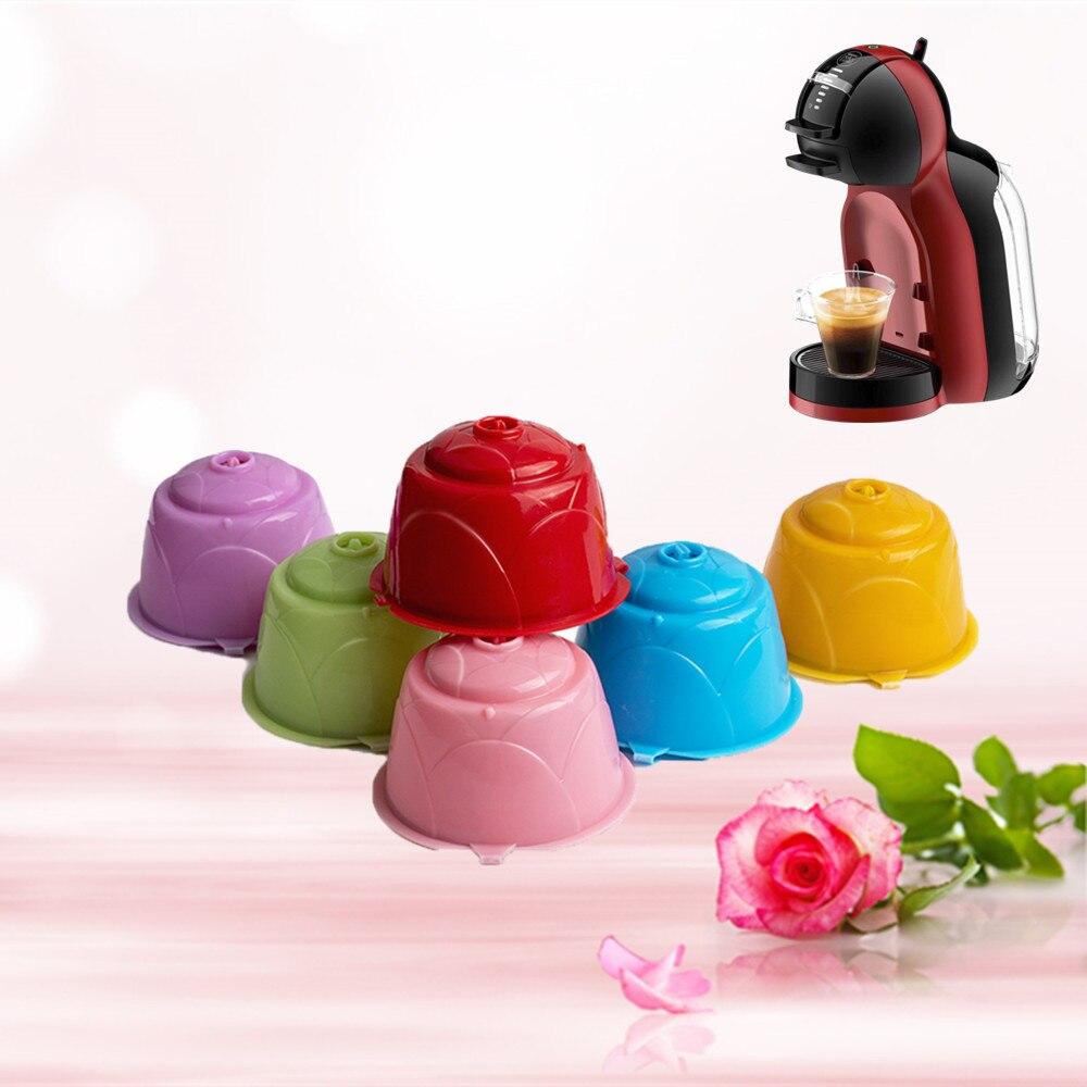 ICafilas Crema кофе фильтр чашка для dolce&gusto многоразового использования новый Dolci Gusto многоразового пользования кофе капсульные корзины