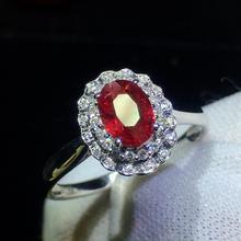 Хорошее ювелирное изделие из чистого 18 K Белый Золотой, Настоящее натуральное голубиное кроваво-красное рубиновое ювелирное изделие с бриллиантами 0.98ct, женские кольца для женщин, тонкое кольцо