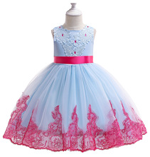 Summer Princess Dress Girl Clothes Wedding Party Costume Kids Dresses For Girls Bridesmaid Tutu Dress Elegant Gown 3 10  Years