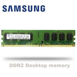 Samsung PC 1GB 2GB PC2 DDR2 667Mhz 800 Mhz 5300s 6400s pamięć stacjonarna RAM 1g 2g 4g moduł DIMM 667 800 Mhz
