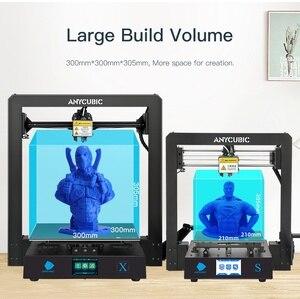 Image 2 - Anycubique i3 méga mise à niveau Mega X 300*300*305mm imprimante 3d grande taille dimpression Meanwell alimentation Ultrabase impresora 3d