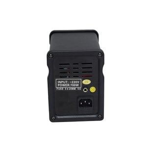 Image 2 - Czarny 700W 858D + + stacja lutownicza ESD LED cyfrowy SMD lutowane Blowser gorąca wiatrówka ulepszona z 858D 858D +