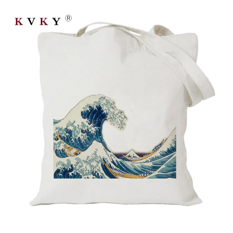 Women Big Canvas Shopping Bag Reusable Soild Extra Large Tote Grocery Bag Eco Environmental Shopper Shoulder Bags For Young Girl
