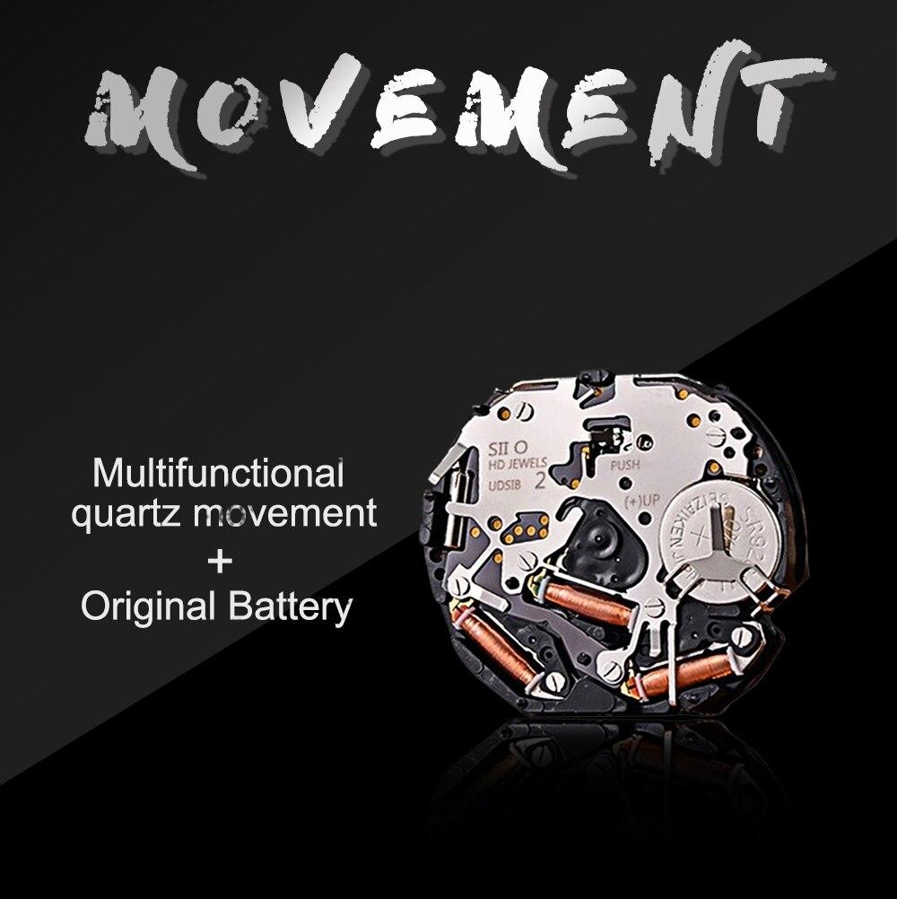 Hb31129f3f3ef435b94e06ef5b40b7dbcB DropShipping Big Dial 45mm Full Black Stainless Steel Multi-function Calendar Men's Top Brand Luxury Watches Relogio Masculino