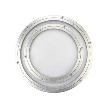 Diseño de 4/6/8/10/12/14/16 pulgadas Lazy Susan, placa giratoria de rodamiento de bolas de aluminio, placa giratoria