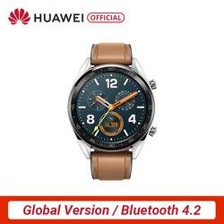 Globale Version HUAWEI Uhr GT Smart Uhr 1,39 ''AMOLED Bildschirm 14 Tage Batterie Lebensdauer 5ATM Wasserdicht Herz Rate Tracker