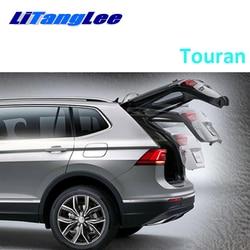 LiTangLee samochód elektryczny podnośnik tylnej klapy bagażnika tylna klapka System wspomagania dla Volkswagen Touran 2015 ~ 2020 oryginalny klucz zdalnego sterowania