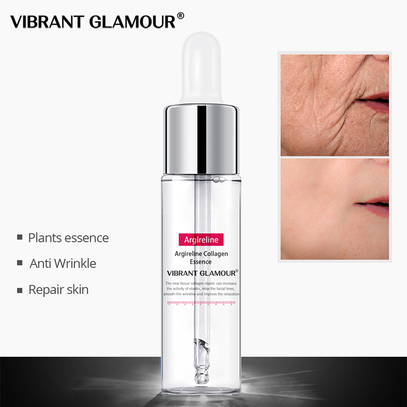 VIBRANT GLAMOUR Argireline Collagen Peptides Face Serum Cream Anti-Aging Wrinkle Lift Firming Whitening Moisturizing Skin Care65