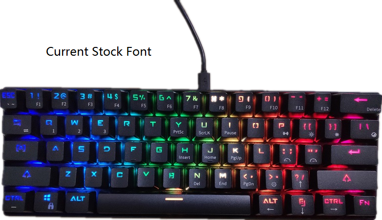 60% Bluetooth RGB Mechancial Keyboard Rk61 Gaming Wireless Keyboards Rk 61 Keys