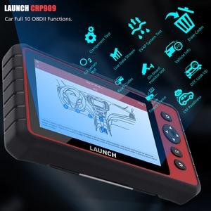 Image 2 - Lancio x431 CRP909 Completo del Sistema Wifi OBD2 Scanner DPF TPMS Olio di Reset PK MK808 OBD ODB2 Auto Scanner di Diagnosi Auto OBD2 Strumento di Scansione