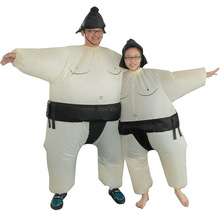 Halloween funny performance wrestling props fat man funny inflatable doll Sumo inflatable  halloween props  bachelorette party pikaalafan giant inflatable toys halloween easter funny doll inflatable props terror ghost hug people inflatable clothes cosplay