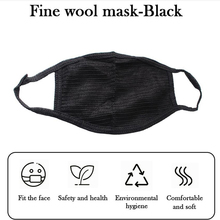 Unisex PM2.5 Mouth Mask Anti Pollution Dust Respirator Washable Reusable Masks Cotton Mouth Muffle Allergy/Travel/ Cycling