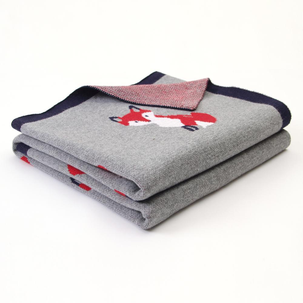 Baby Blankets Knitted Soft Warm Newborn Bebes Swaddle Wrap Sleepsacks For Stroller Accessories 100%Cotton Infantil Blanket Cover