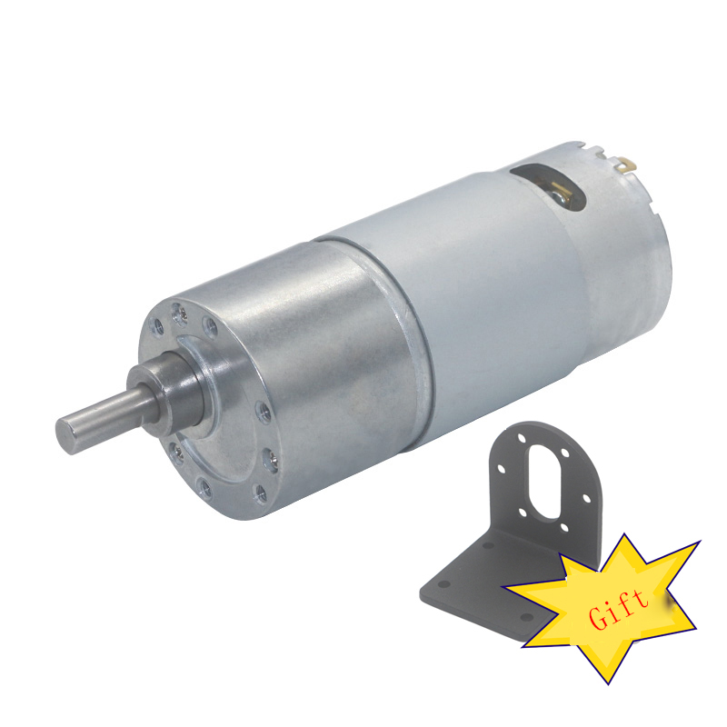 JGB37-550 DC geared motor 6V 12V high power large torque intelligent robot motor car children's toy motor home appliance