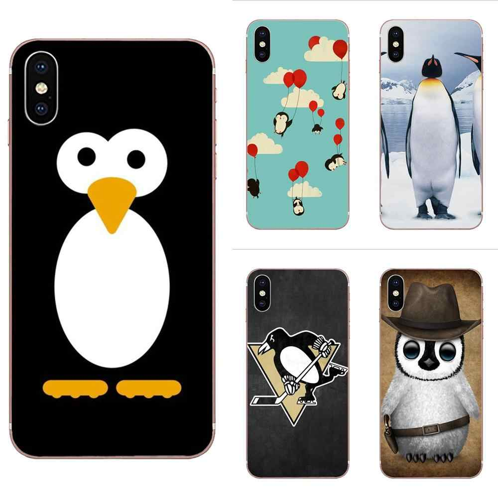 Soft TPU Cell Case Arctic Penguins For Huawei Honor Mate 7 7A 8 9 10 20 V8 V9 V10 G Lite Play Mini Pro P Smart