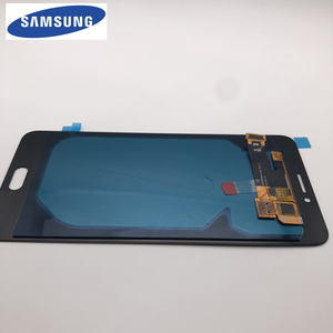 Image 2 - Yeni orijinal test süper AMOLED LCD Samsung Galaxy C7 Pro C7010 LCD ekran dokunmatik ekran Digitizer meclisi değiştirme