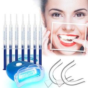 Dental Peroxide Teeth Whitening Kit Tooth Bleaching Gel Kits Dental Brightening Dental Equipment Oral Hygiene Smile Products