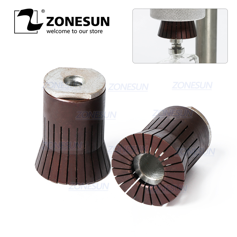 ZONESUN Customized Capping Chuck Head For Perfume Bottle Capping Machine|Power Tool Sets| |  - title=