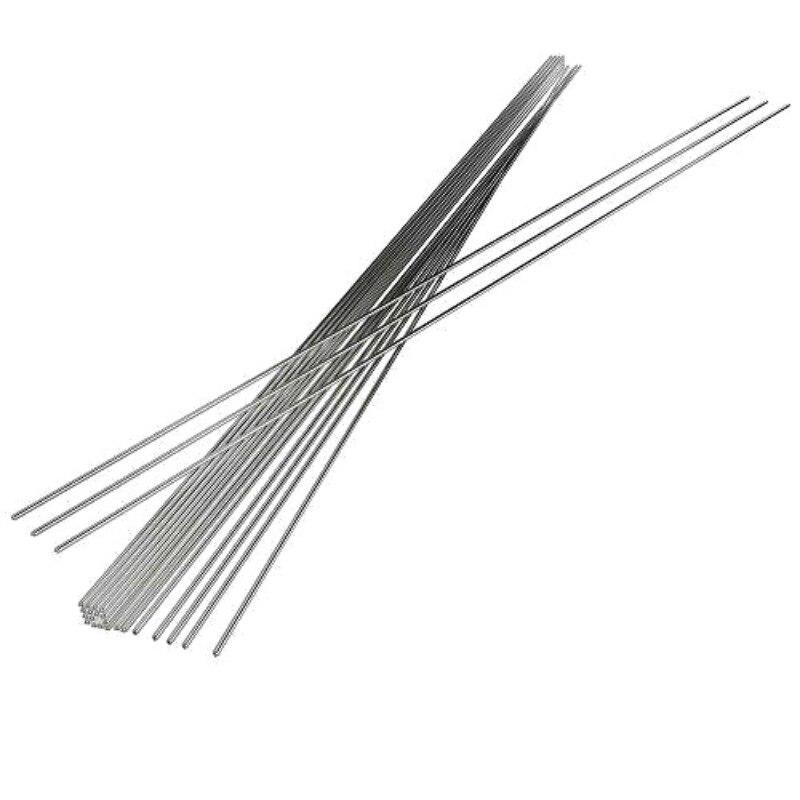 Горячая распродажа 10/20/50 шт 2 мм сварочный электрод Алюминиевые проводы с сердечником стержень поток низкая Температура электрод электродн...