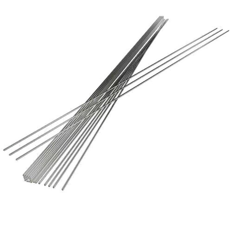 Caliente 10/20/50 piezas 2mm soldadura de alambre de aluminio Flujo de varilla de flujo de electrodo de baja temperatura núcleo de flujo varillas de soldadura Lámparas de pie LED nórdicas minimalistas lámparas de pie LED NEGRO de sala/lámparas de pie Luminaria de aluminio blanco decorar