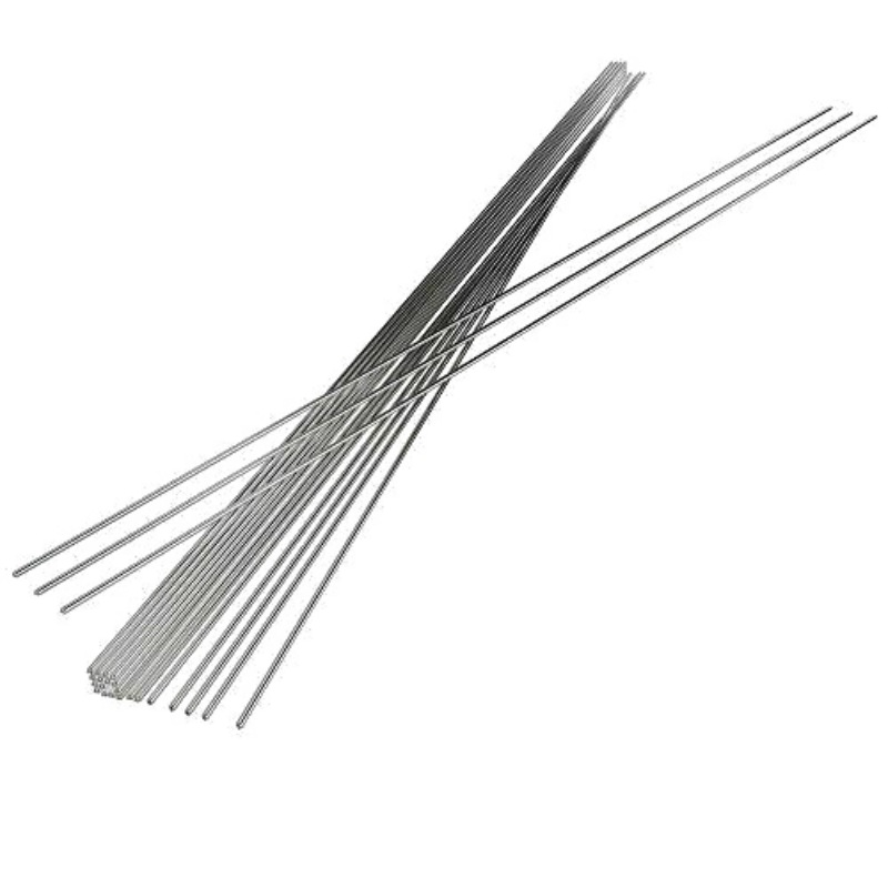 Hot 10/20/50pcs 2mm Welding Aluminum Wire Cored Rod Flux Low Temperature Electrode Flux Core Welding Rods