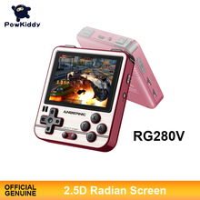Powkiddy RG280V Handheld Retro Game Console 4770 Dual 1.0GHz 2.8 Inch IPS Screen OCA