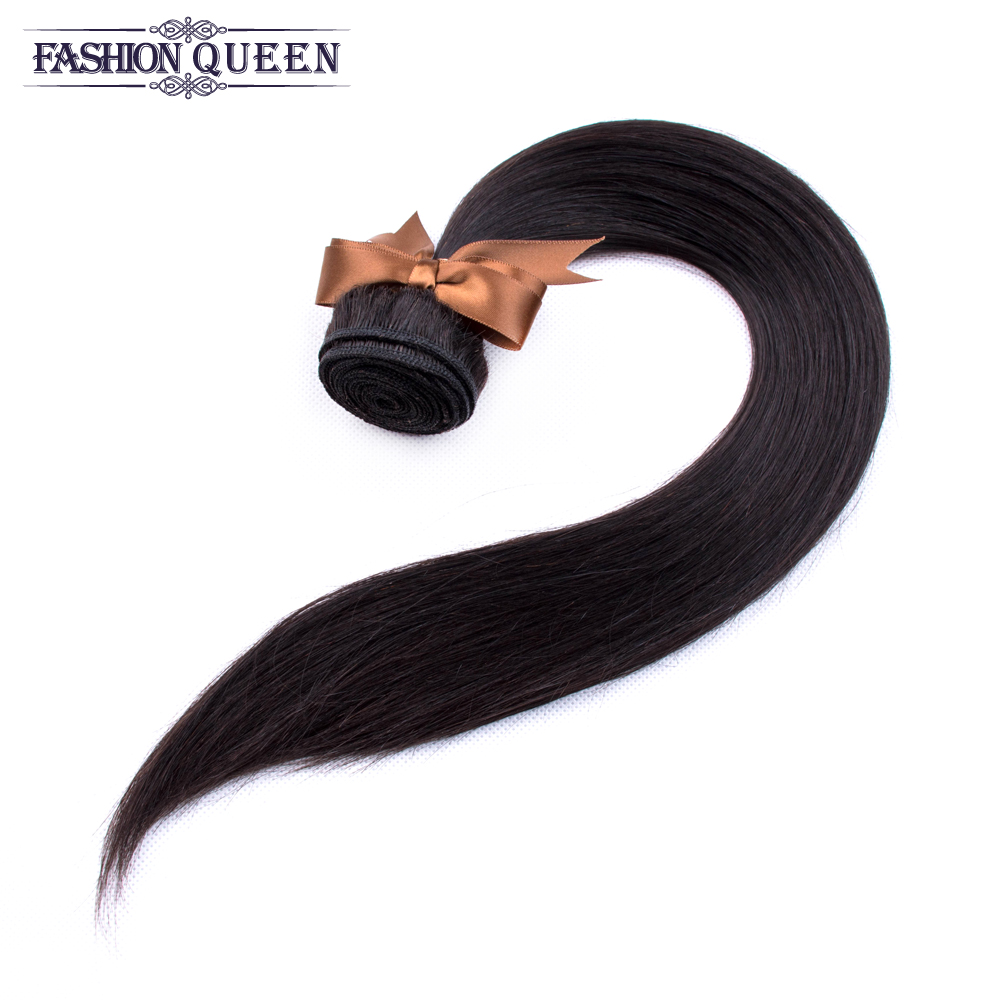 Hb313f22134cf493db7b29748cd792993D Brazilian Straight Hair Lace Frontal With Hair Weave Bundles Human Hair Extension Bundles With Frontal Non Remy Fashion Queen