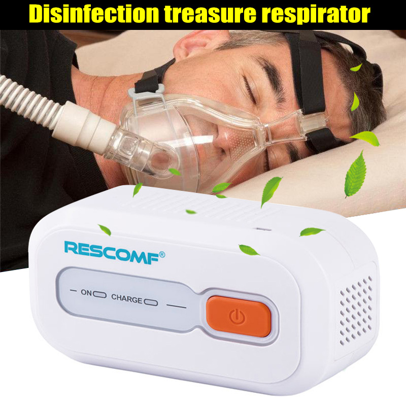 Ventilator Auto CPAP BPAP Cleaner Disinfector 2200mAh Sleep Apnea Anti Snoring Easy To Carry MSU99