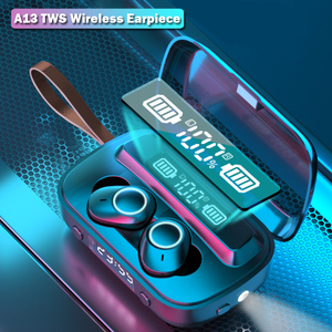 A13 TWS Bluetooth 5.1 Earphones 2000mAh Charging Box Wireless Headphone 9D Stereo Sports Waterproof Headsets With Microphone