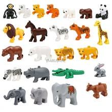 Building-Bricks Duplo Blocks MARUMINE Animal Educational DIY for Children Learning Toys