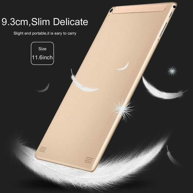 New 10 Inch 6G+128GB Tablet Ten Core 4G Network WiFi Tablet PC Android 9.0 Screen Dual SIM Dual Camera Rear  Kids Tablet 5