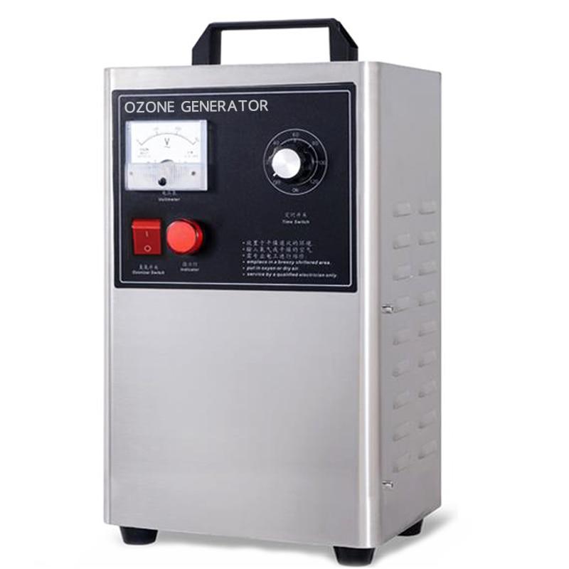 Ozon Generator Sterilisation Ozon Desinfektion Maschine Entfernen Formaldehyd Wasser Gemüse Ozon Generator Sterilisator 220V