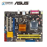Asus P5QPL AM Desktop Motherboard G41 Socket LGA 775 DDR2 8G SATA2 USB2.0 VGA uATX Original Used Mainboard