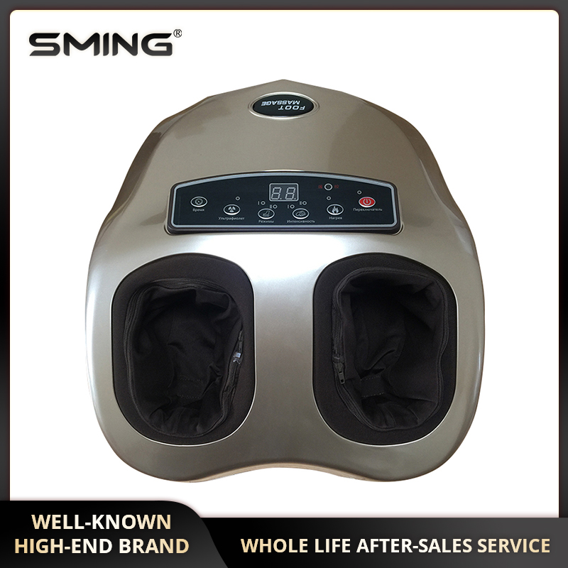 Electric Foot Massager, Kneading & Shiatsu Heating Feet Reflexology Machine