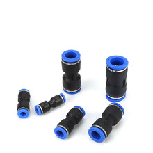 4mm 6mm 8mm 10mm 12mm 14mm 16mm Hose Tube Equal Union Straight One Touch Air Pneumatic Push In Pipe Fitting Quick Connector(China)