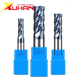 10-Carbide End-Mill Cutting-Tools Milling-Cutter Cnc-Machine Alloy Tungsten Steel HRC50