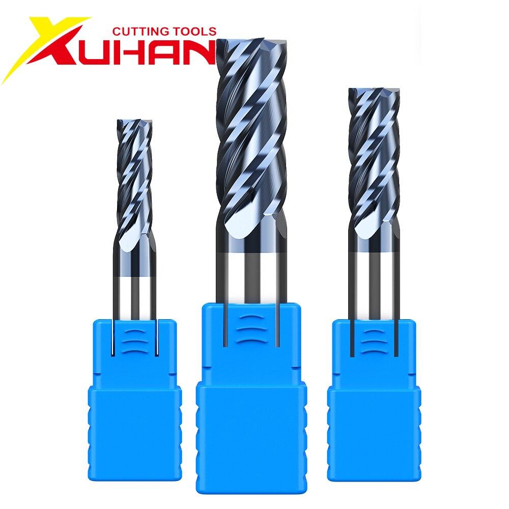 HRC50 1 2 3 4 5 6 8 10 frez węglikowy narzędzia do frezowania i cięcia stop wolframu stali frez frezy maszyny CNC frez trzpieniowy s