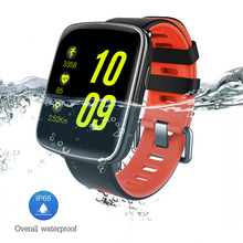 GV68 Smart Watch Waterproof Ip68 Heart Rate Monitor Smartwatch Swimming with Replaceable Straps for Sport